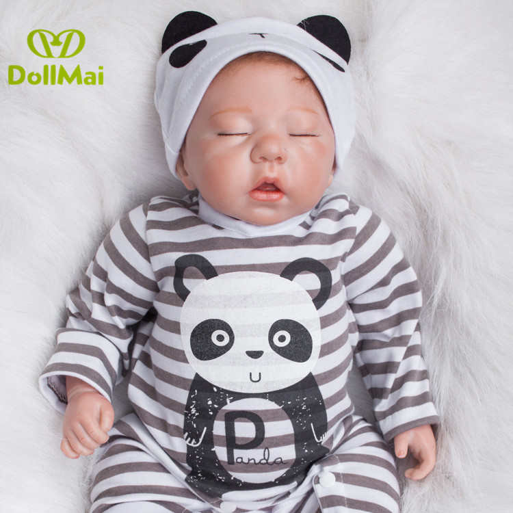 20 pouces réel sommeil reborn bébés doux poupée reborn jouets pour enfants jouer maison jouets bebes reborn bonecasa lol cadeau