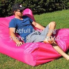 Furniture Beanbag-Chair Sofa-Pink Outdoor Giant The Cover Floating Pool-Side Only Water