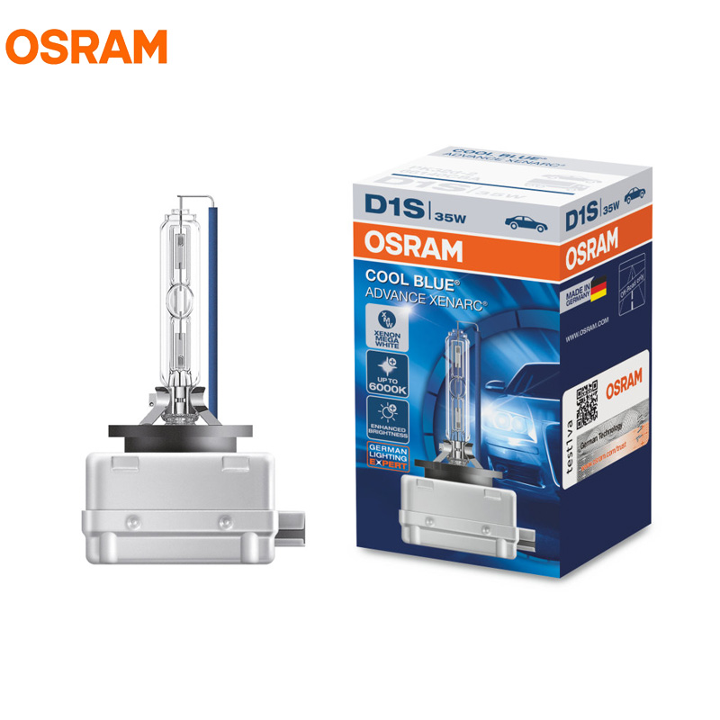 OSRAM D1S D2S D3S D4S 6000K 12V HID Car Xenon Headlight Bulbs 2pcs lot car light source for audi vw package genuine xenon hid bulbs oem d1s d2s d3s 4300k 6000k 12v 35w