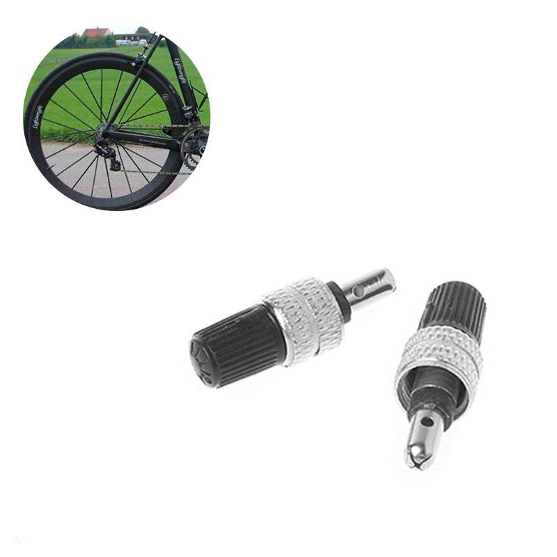 Bike Cycle Bicycle Presta Alloy High Pressure Valve Caps Dust Cover PURPLE X 2