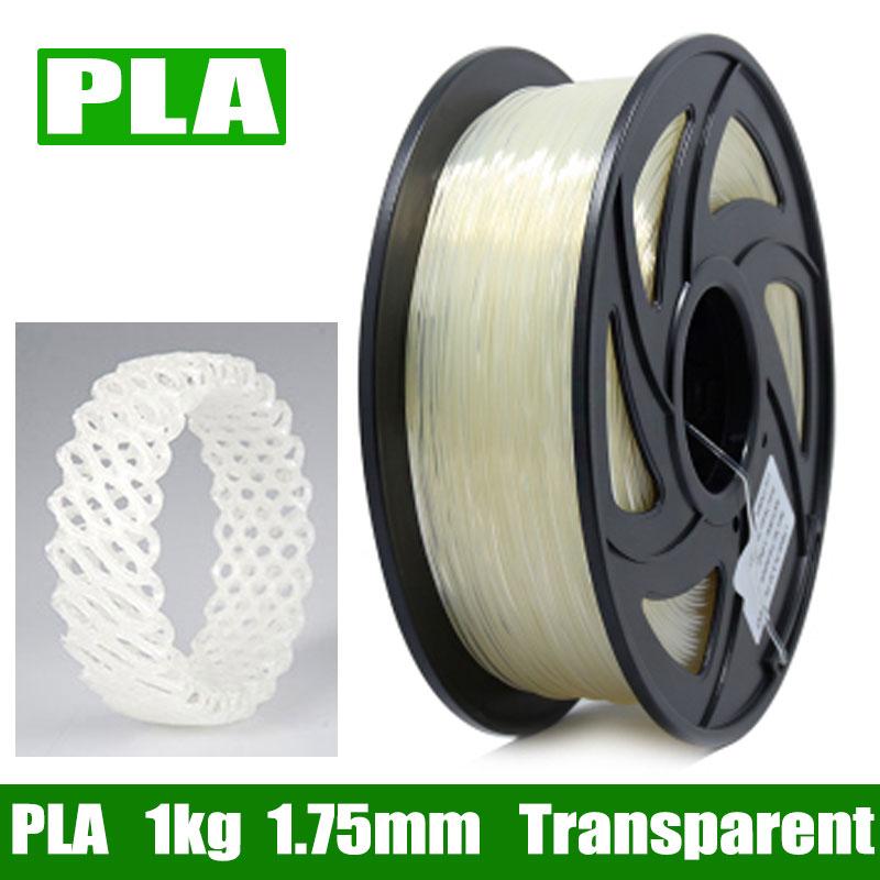 Top Quality 3D Printer Plastic 1.75mm ABS PLA Plastic 1KG 340M 3D Plastic Filament 3D Printing Material Fast Ship From Moscow 1 75mm 340m pla 3d printing printer filament