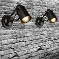 País American Loft Estilo Industrial Do Vintage lâmpada de Parede LEVOU luz Retro Personalidade luzes de Iluminação Do Corredor Luzes De Parede Para Bar Em Casa