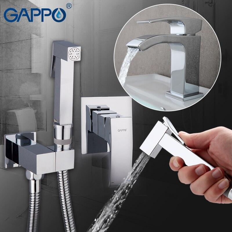 Gappo água bidé torneira misturadora Bacia Torneira pia do banheiro torneira misturadora torneira Do Banheiro chuveiro set torneira Do Chuveiro bidé sanita bidé
