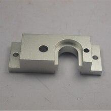 Reprap Mendel Prusa 3d aleación printeraluminum V6 caliente de metal extremo de la placa de montaje para BullDog Extrusora