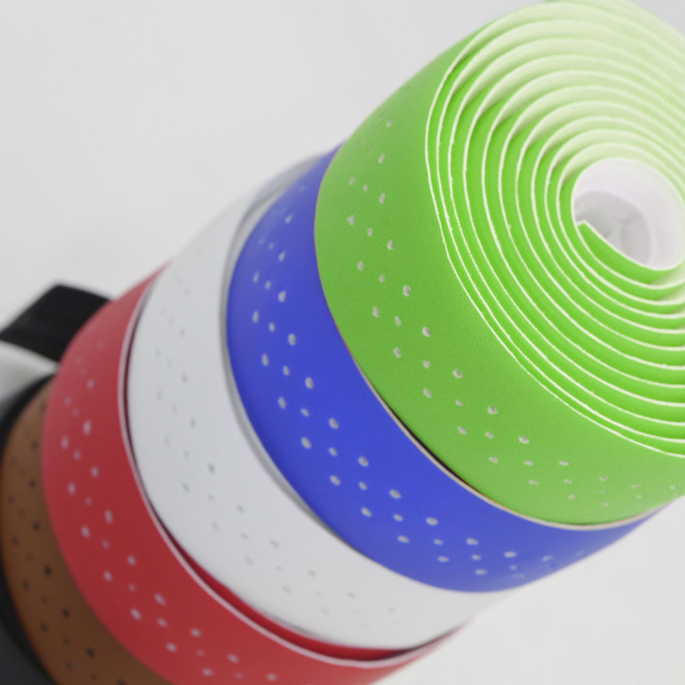 Bike Handlebar Tape MTB Soft Leather PU Fixed Bar Bicycle Cycling Belt Breathable Accessories Bisiklet Aksesuar Cinta Manillar
