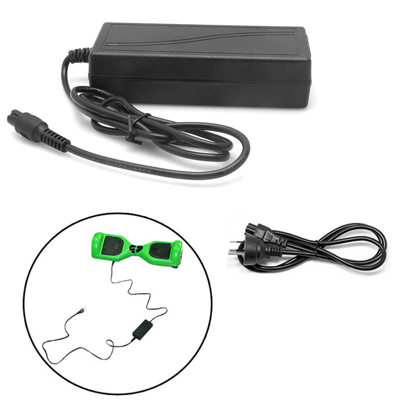 1Pc 42V 2A AC DC Power Adapter Battery Charger For Smart Balance Scooter Wheel US/UK/EU/AU Plug C26