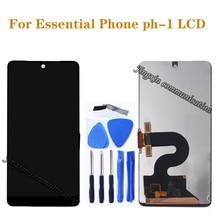 الأصلي lcd للهاتف الأساسية ph 1 شاشة الكريستال السائل محول الأرقام بشاشة تعمل بلمس ل الضروري الهاتف ph 1 طقم تصليح الهاتف المحمول
