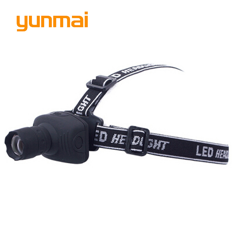 1000 Lumen Powerful Mini LED Headlamp NEW Q5 Zoom 3 Mode Waterproof Bicycle Light Lamp For Hunting Camping Use 3*AAA Battery