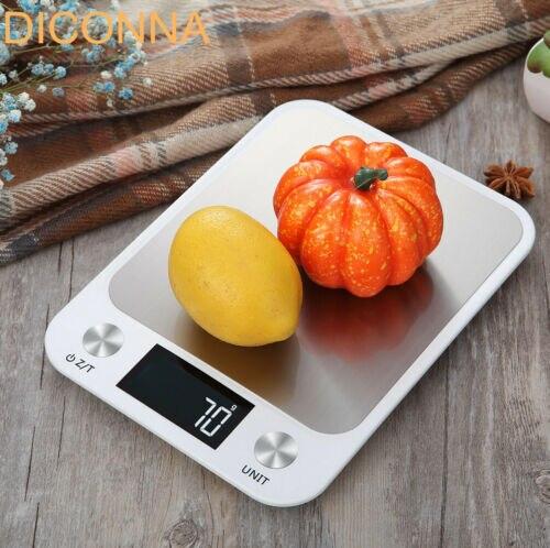 Электронные кухонные весы с ЖК-дисплеем, 10 кг/1 г-3