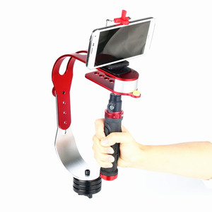Image 2 - חדש PRO כף יד וידאו מייצב מצלמת יציב עבור DSLR DV SLR דיגיטלי מצלמה סיטונאי + קבוע מסגרת