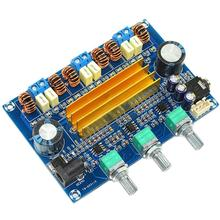 TPA3116 2.1 100W+50W*2 Dual Chip Class D HIFI Assembly Digital Power Amplifier Board dc24v 2 channel 100w 100w 2 0 4ohm high power class d sta508 digital car audio hifi amplifier board