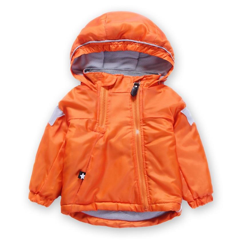 2017NEW  Children Jacket Spring Autumn Winter Windbreaker Kid Coat Girl boy Clothing Windcoat Polar Fleece inside 2-7years old