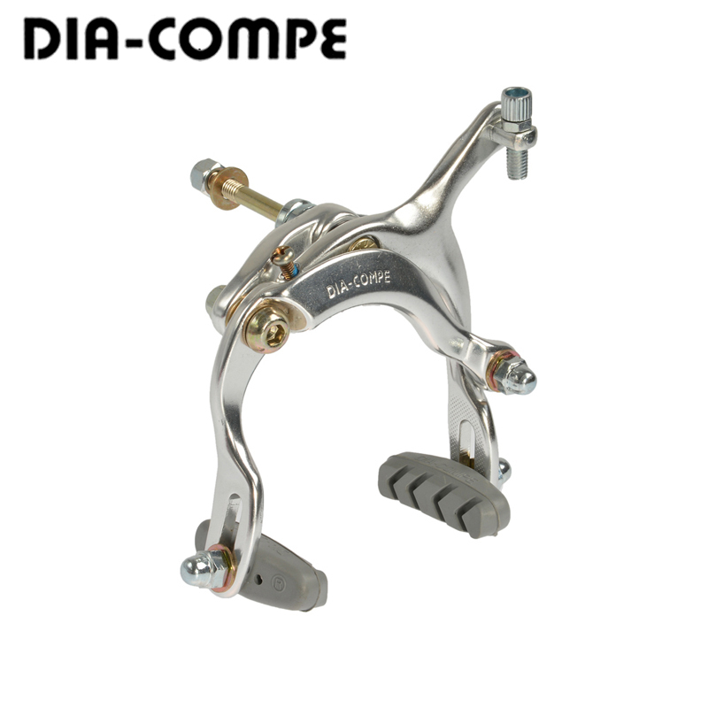 DIA-COMPE Bike Brake Levers CT180 for City Comfort Old School Vintage BMX Silver