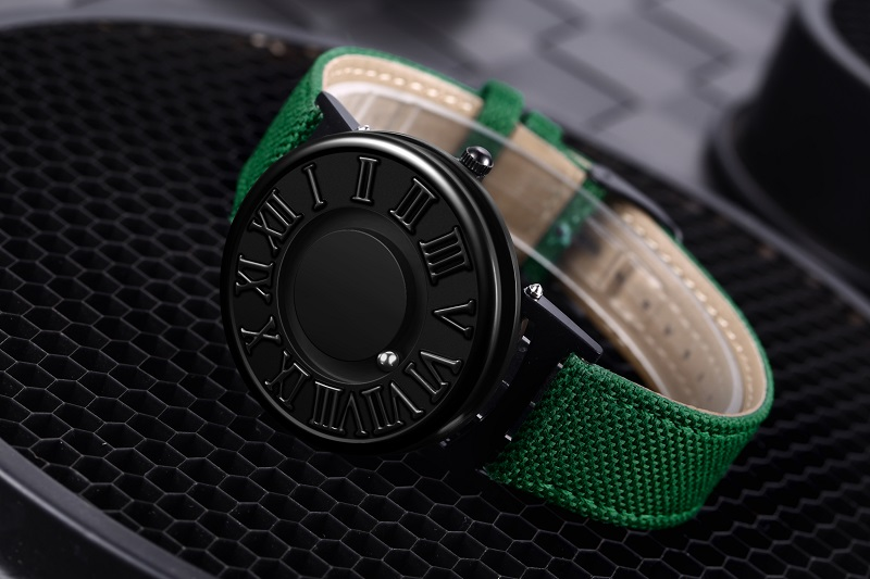 0EUTOUR Colors Canvas Strap watch man Magnetic Ball Quartz Watches Personify Waterproof Male Clock Simple Mimimalist Wristwatches (4)