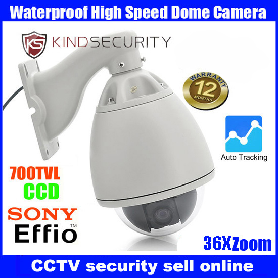 Waterproof outdoor 1080P camera High speed Dome Camera p2p ip camera 36X Zoom auto tracking High Speed Dome Camera