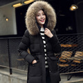 Winter Jacket Women 2016 New Fashion Longfur HoodParkas For Womens Winter Jackets A950