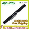 Apexway 4 células bateria do portátil para hp oa04 oa03 240 g2 cq15 cq14 para compaq presario 15-s000 hstnn-lb5y hstnn-lb5s hstnn-pb5y