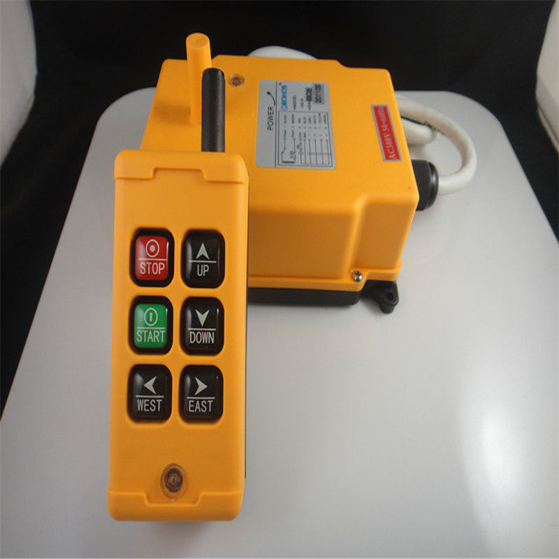 HS-6 110V 6 Buttons 2 Motions 1Speed Hoist Crane Truck Winches Radio Remote Control SystemHS-6 110V 6 Buttons 2 Motions 1Speed Hoist Crane Truck Winches Radio Remote Control System