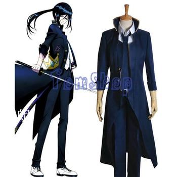 Anime K Yatogami Kuroh Cosplay Uniform Suit Men's Full Set Halloween Costumes Custom-made Any Sizes Free shipping
