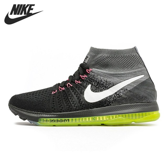 957efeac9bf8 Original New Arrival 2017 NIKE ZOOM FLYKNIT Women s Running Shoes Sneakers