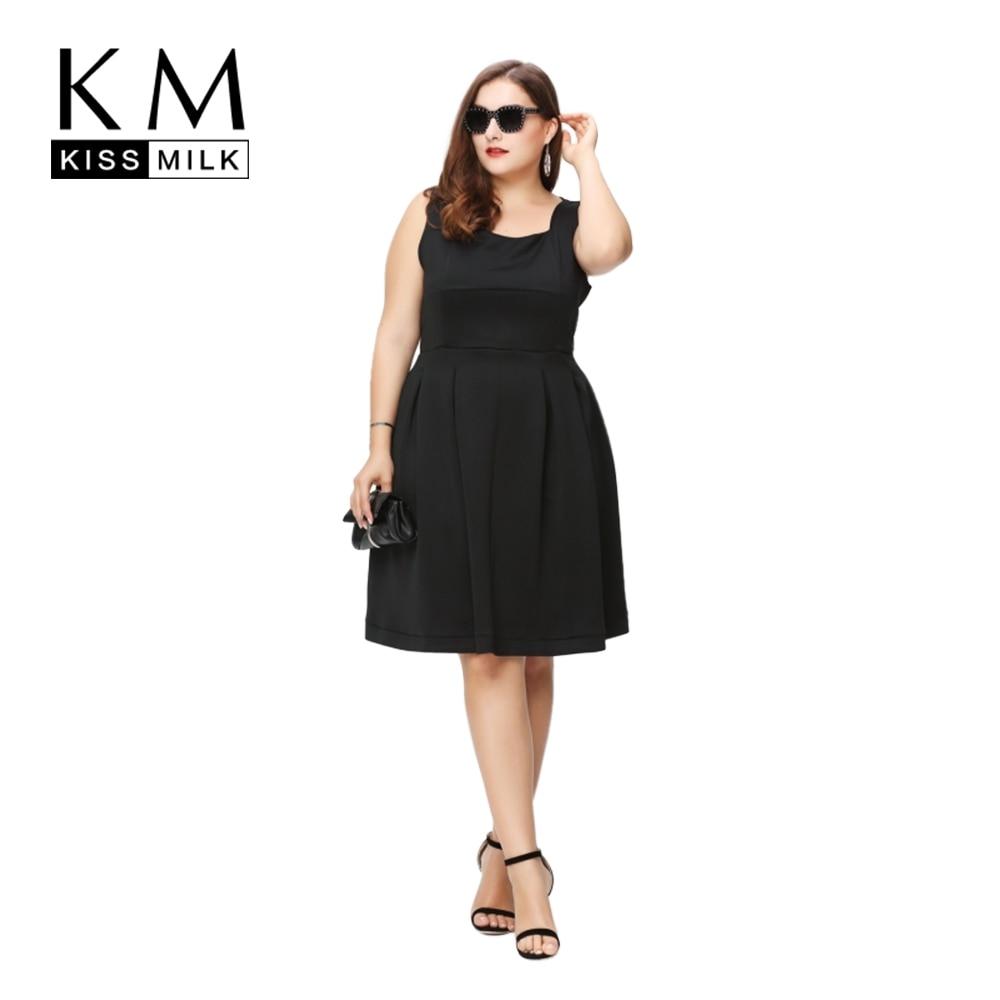 Kissmilk 2017 mujeres más el tamaño de una línea de verano sin tirantes elegante