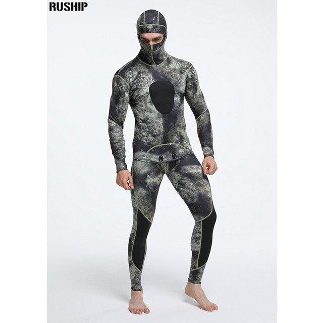 1.5mm Men Neoprene diving suits keeping warm Rash Guards swimwear long sleeve Wetsuit Spearfishing snorkeling one piece vest