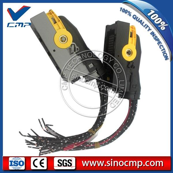 EC290 EC210 ECU Connector Plug For Volvo Excavator Controller|plug|plug connector|  - title=