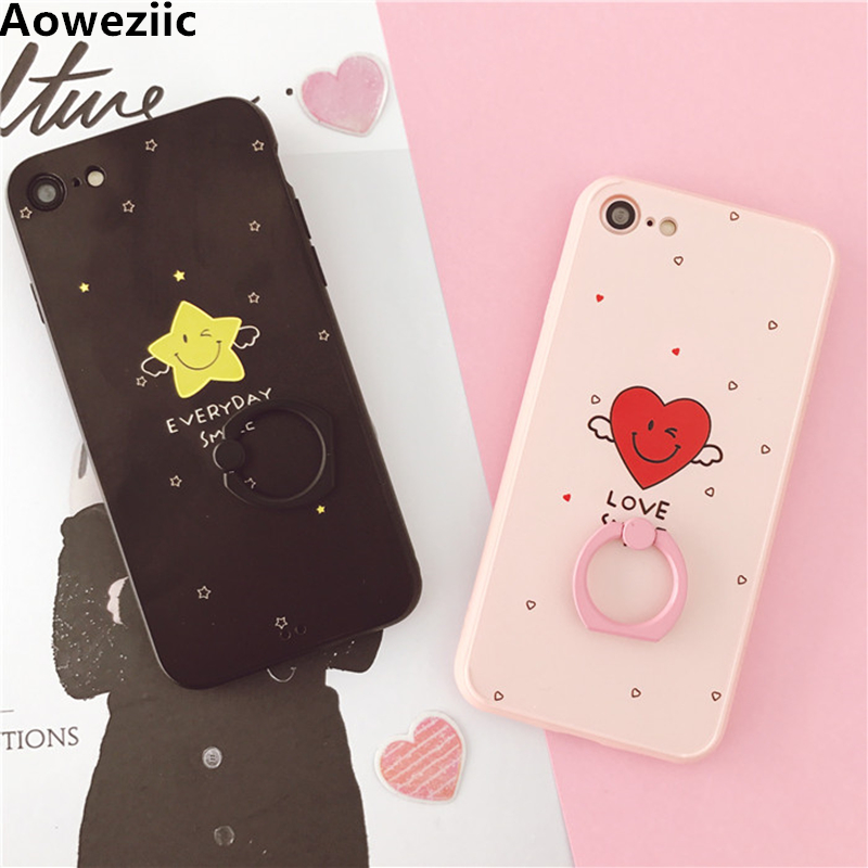 Aoweziic Angel Star X mobile phone shell package For iPhone7plus protective sleeve 6S cute fall soft shell 8Plus case