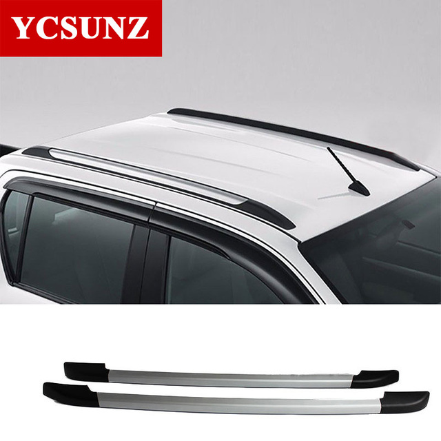 2012 2018 Decorative Roof Rails For Ford Ranger