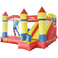 YARD Big Inflatable Bouncy Castle with Slide Obstacle Cilmbing Wall Include Blower Ships from Russia