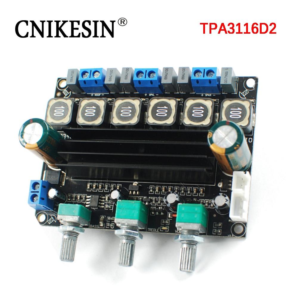 Tpa3116 High Power Hifi Digital Amplifier Board 12 24 V 21 Class D Circuit Lm1036 Tone Controlled Irs2092 Cnikesin Tpa3116d2 Super Heavy Bass Gun 10