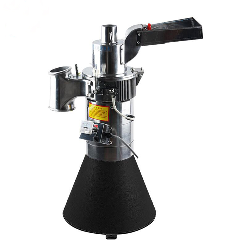 DF-25 Automatic grinder machine herb grinding,medicine pulverizer, coarse cereal  Flour mill,grinding miller 1pc vibration type pneumatic sanding machine rectangle grinding machine sand vibration machine polishing machine 70x100mm