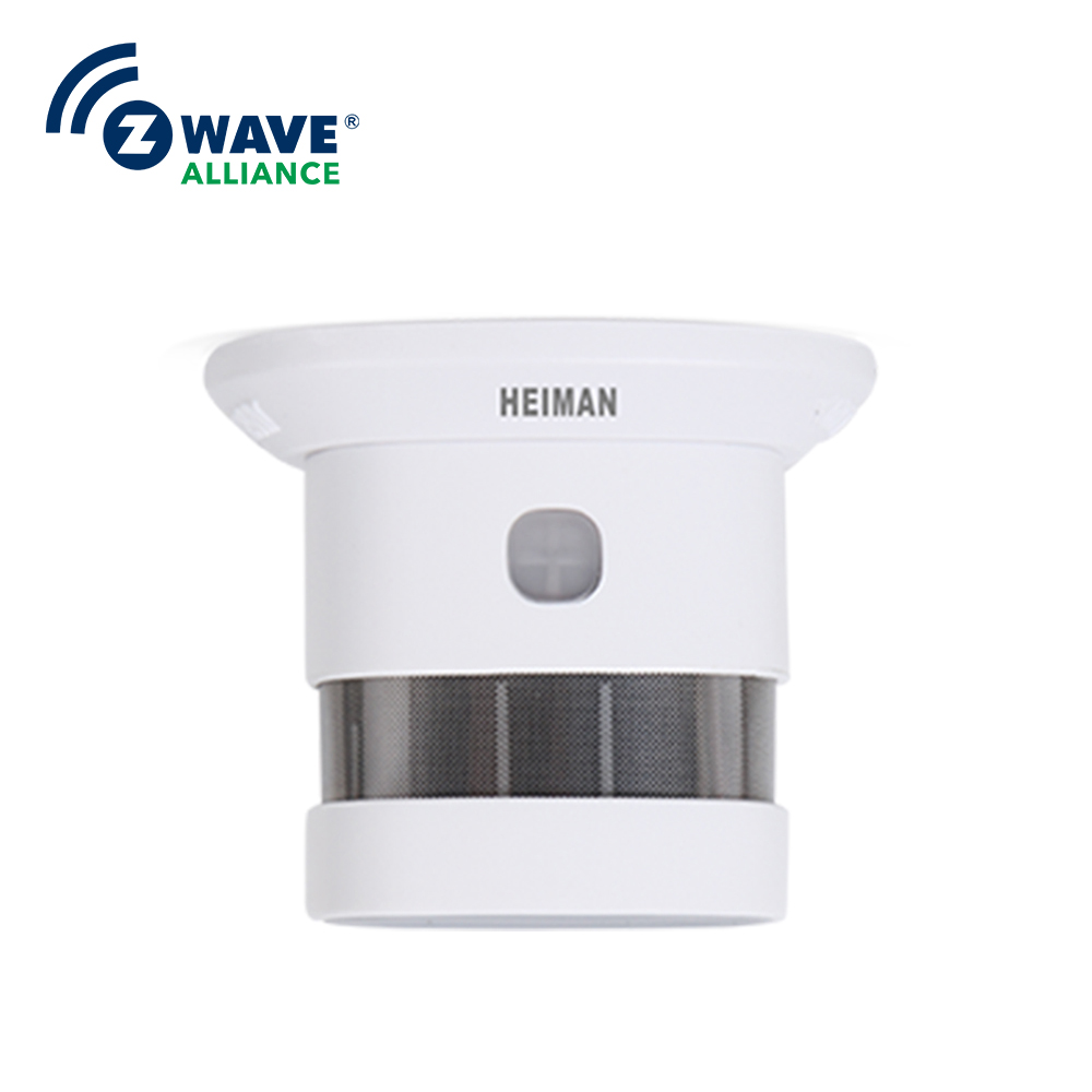 The Best Smoke Detector Smart Home Security Monitoring Phone Control Zwave Alliance Smoke Security System