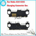 For Nokia 6310 6310i original Brandnew Mobile Phone bottom Housing Cover Charging Connector flex  Free shipping