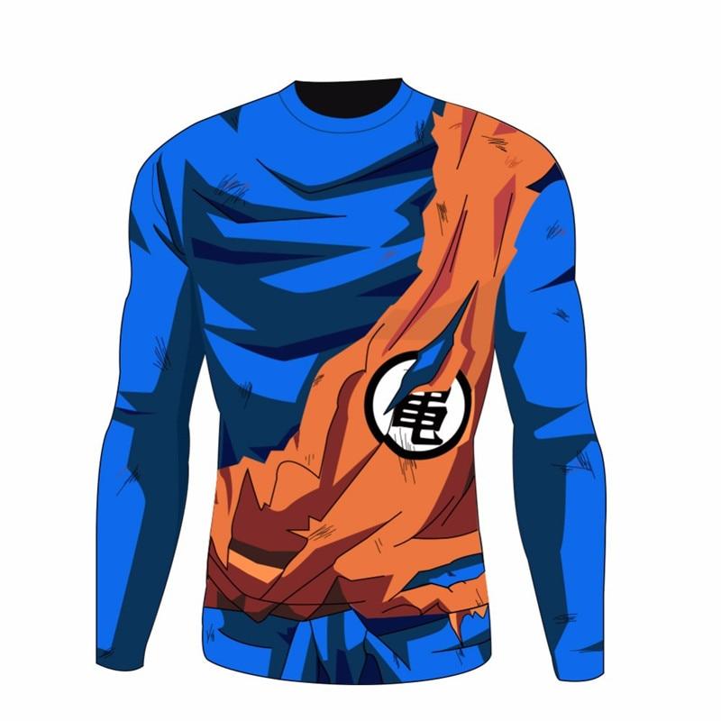 Compression Tee   shirt   Dragon Ball Z 3D Print Tshirt Vegeta Goku Super Saiyan Funny Rashguard Fitness Jerseys Anime   T  -  shirts