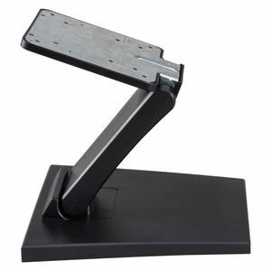Регулируемая складная металлическая подставка для ЖК-телевизора, настольная подставка с отверстием VESA 75x75 мм и 100x100 мм