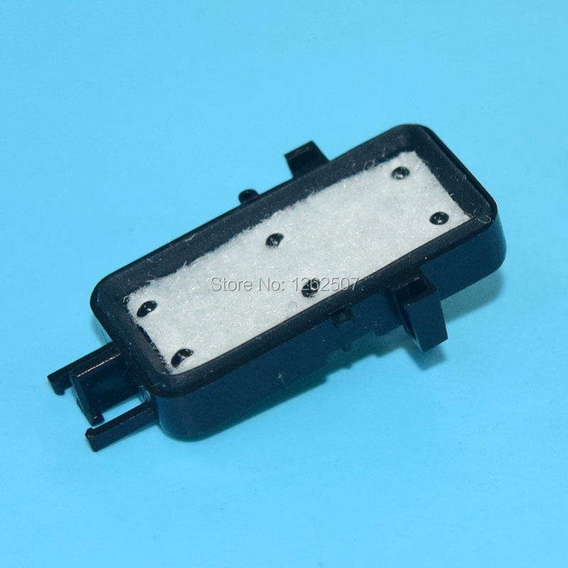 цена на Free shipping! Capping top For Epson Stylus 7600 9600 printer head ink pad For Epson F138040 F138050 Printhead cap