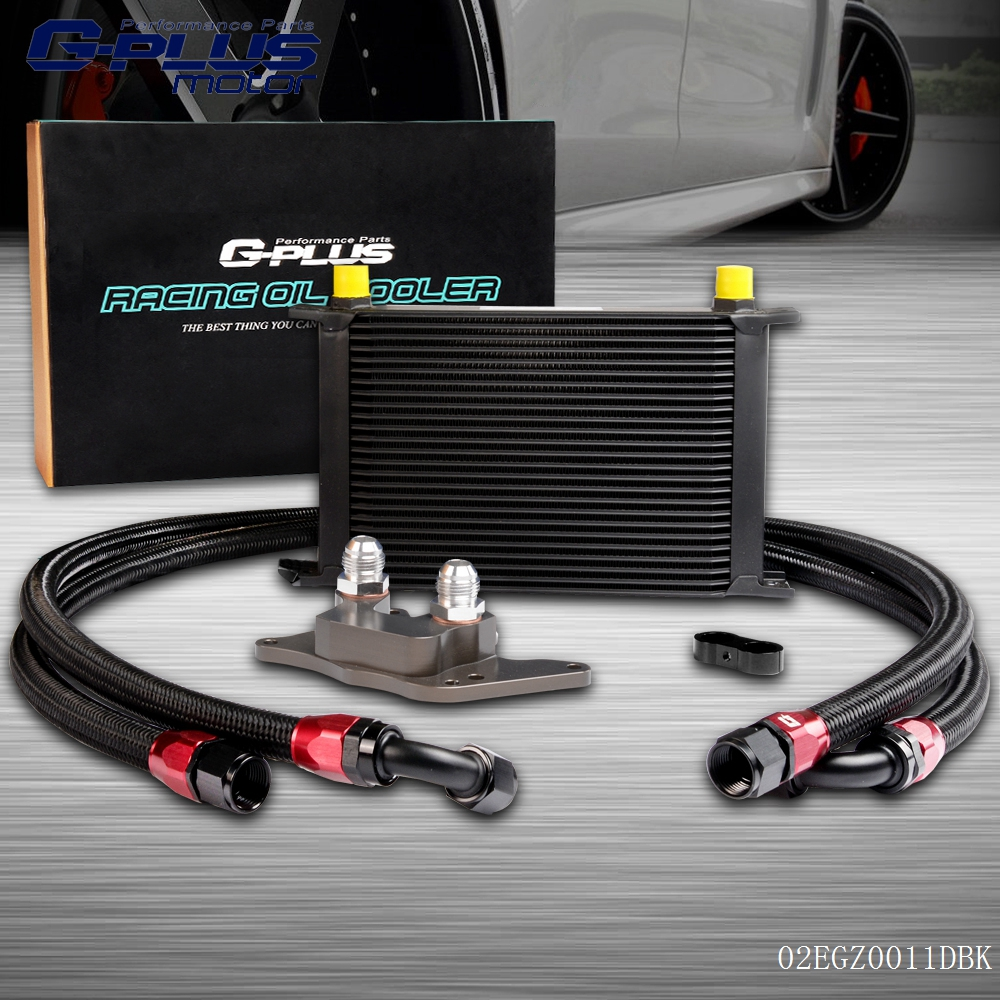 25 Row Engine Oil Cooler Relocation Kit For BMW Mini Cooper S R56 Turbo 06-12 25row engine oil cooler relocation kit for bmw mini cooper s r56 turbo 06 12 bk