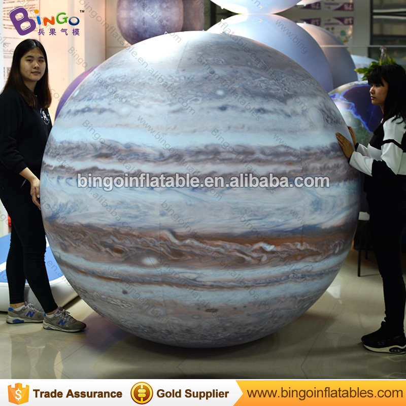 Free Shipping 1.7m PVC material sealed inflatable Jupiter balloon for toy sports ao058r 2m sky balloon new brand attrative pvc helium balloon custom advertising inflatable balloon
