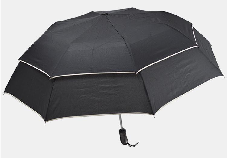 10pcs/lot Personalized double-layer golf folding umbrella creative large sunny business gift advertising umbrella SN1705
