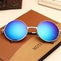 Классические Круглые Очки Мужчины Женщины Малый Старинные Ретро Очки Женщин За Рулем Металлические Очки Солнцезащитные Очки Для Мужчин Женщин UV400