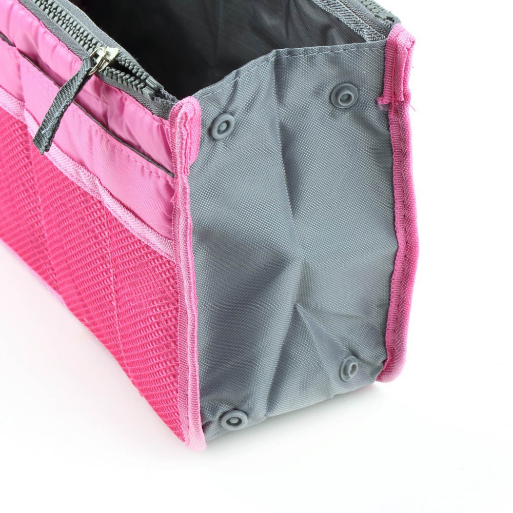 Waterproof Nylon Travel Storage Bags Women Multifunctional Cosmetic Makeup Bags Travel Phone keys Organizers Insert Handbags