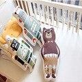 Juguetes de Peluche Oso de dibujos animados/Robot/Panda Almohada de Regalo de Navidad Del Bebé Almohadas Decorativas para Niños Sala De Sofá Cama Cojín