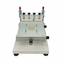 2019 Solder Paste Printer Silkscreen Printing Machine High Precision SMT Screen Printer Single Double sided Circuit Board Paste