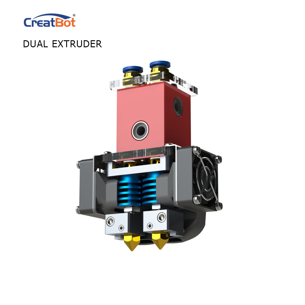 DX02 300 * 250 * 300 մմ երկակի Extruder CreatBot 3D տպիչ - Գրասենյակային էլեկտրոնիկա - Լուսանկար 3