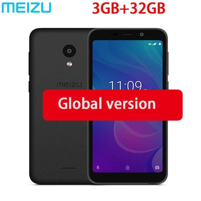 """Global version meizu C9 Pro M9C smartphone Quad Core 3GB 32GB 5.45"""" Full screen 16.0MP Camera 3000mAh Cell Phone"""
