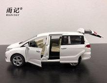 RIAI DAY 1/32 Scale Car Model Toys Honda Odyssey MPV hang- és fényszóró fém autós modell ajándék ajándékhoz / gyerekeknek / kollekció