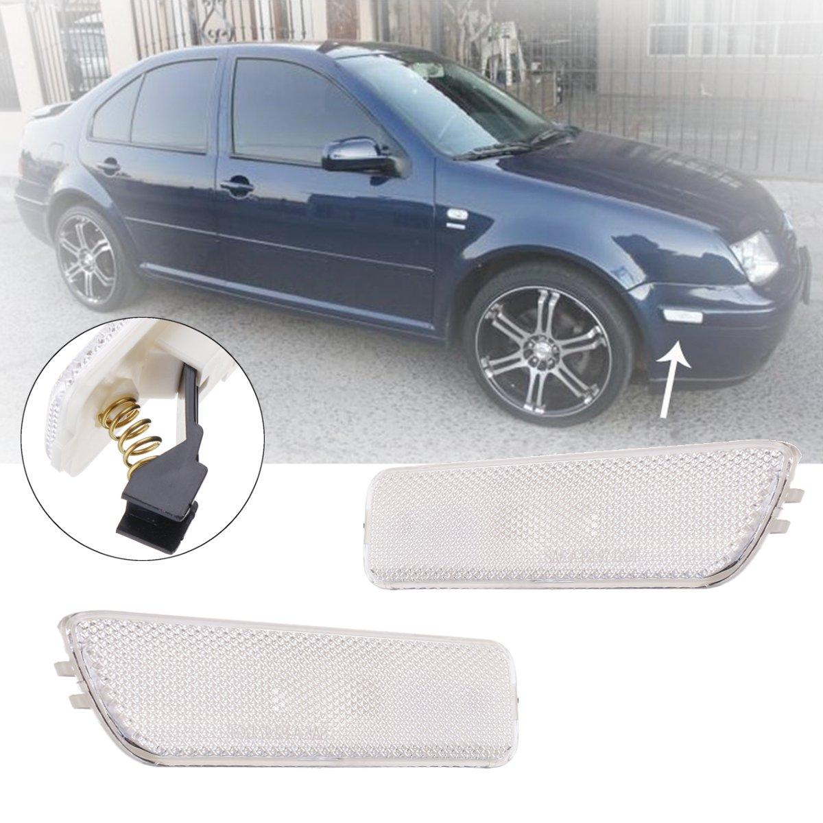 Ford Fiesta MK7 White LED Superlux Side Light Beam Bulbs Pair Upgrade