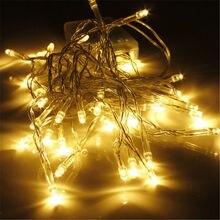 Сказочных огней а. надувательство горячее строка рождество светодиодов батареи теплый белый