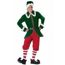 Costume Costumi Babbo Elf